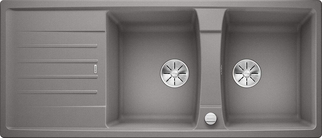 Large Size of Küchenspüle Mit Unterschrank Alumetallic Blanco 524972 Lexa 8 S Kchensple 80 Cm Bad Spiegelschrank Beleuchtung Einbauküche E Geräten Bett Schubladen Wohnzimmer Küchenspüle Mit Unterschrank