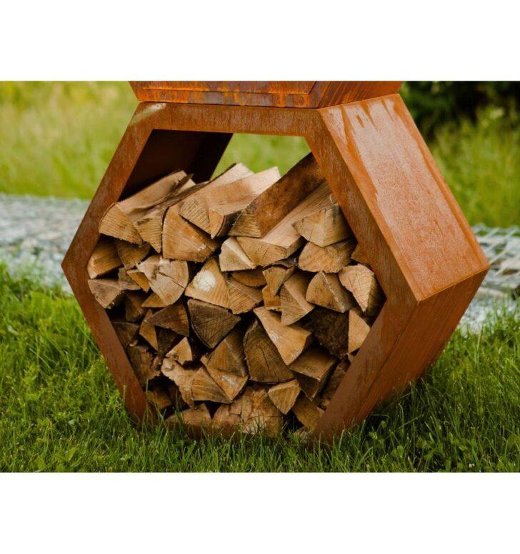 Medium Size of Holzlege Cortenstahl Schne Rost Wabe 6 Eckig Offen Als Sichtschutz Verbaubar Wohnzimmer Holzlege Cortenstahl