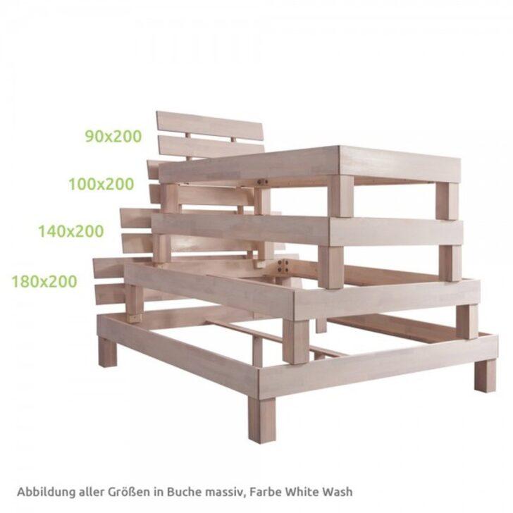 Medium Size of Futonbett 100x200 Bett Julia 100 200cm Eiche Massiv White Wash Betten Weiß Wohnzimmer Futonbett 100x200