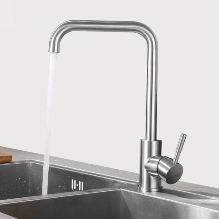 Medium Size of Niederdruck Wasserhahn Kche Armatur Aus Edelstahl 360 Küche Wandanschluss Bad Für Wohnzimmer Wasserhahn Anschluss