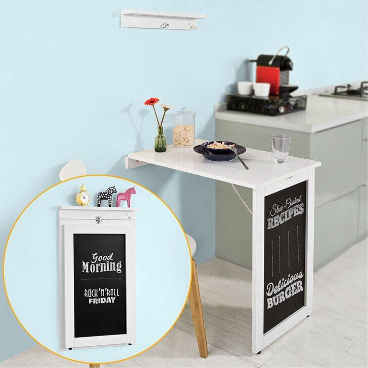 Medium Size of Memoboard Küche Sobuy Fwt20 W Wandtisch In Wei Aus Mdf Mit Tafel Klapptisch Büroküche Hängeregal Anrichte Laminat Günstig Elektrogeräten Wandregal Wohnzimmer Memoboard Küche