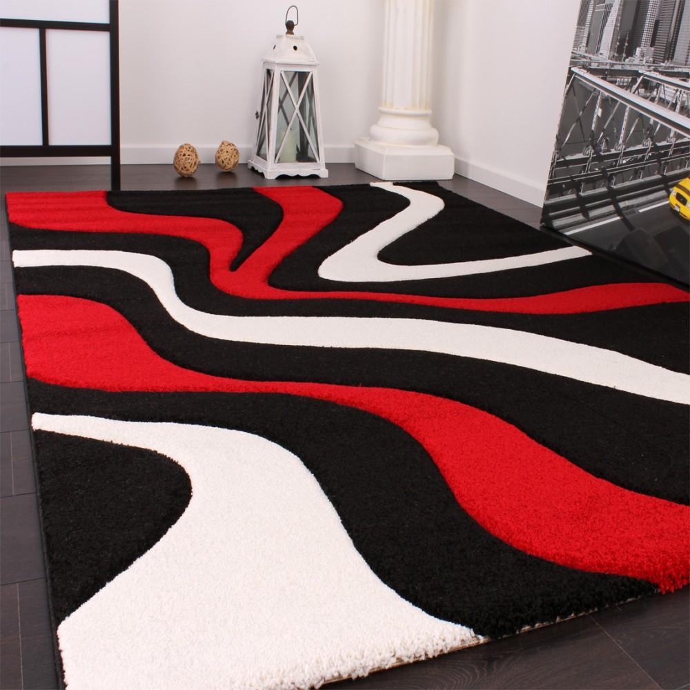 Full Size of Teppich Schwarz Weiß Designer Rot Teppichcenter24 Schlafzimmer Landhausstil Wohnzimmer Teppiche Küche Bad Hängeschrank Hochglanz Bett 160x200 Für Set Regal Wohnzimmer Teppich Schwarz Weiß