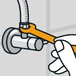 Wasserhahn Anschluss Wohnzimmer Wasserhahn Anschluss Montieren Anleitung Von Hornbach Bad Küche Wandanschluss Für