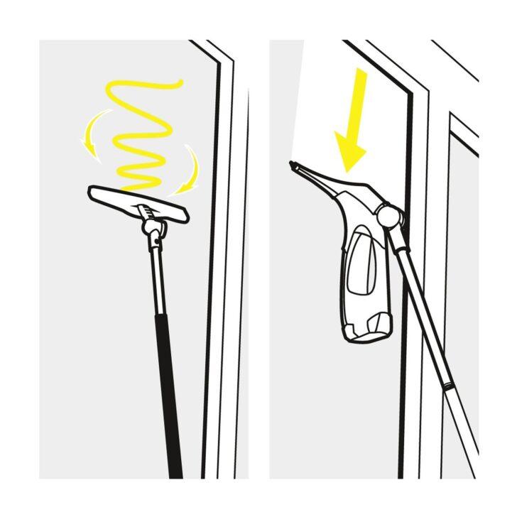 Medium Size of Teleskopstange Fenster Reinigen Krcher Verlngerungsset Fr Fenstersauger Der Wv 5 Reihe Kaufen Nach Maß Mit Lüftung Rehau Kunststoff Folie Für Sonnenschutz Wohnzimmer Teleskopstange Fenster Reinigen