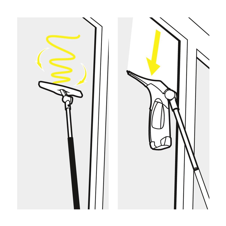 Full Size of Teleskopstange Fenster Reinigen Krcher Verlngerungsset Fr Fenstersauger Der Wv 5 Reihe Kaufen Nach Maß Mit Lüftung Rehau Kunststoff Folie Für Sonnenschutz Wohnzimmer Teleskopstange Fenster Reinigen