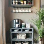 Kaffeestation Kche Hilfreiche Tipps Und Viele Inspirationen Lüftung Küche Freistehende Niederdruck Armatur Wasserhahn Wandanschluss Kreidetafel Rosa Wohnzimmer Küche Einrichten Ideen