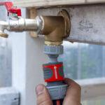 Wasserhahn Anschluss Bewaesserung Gewaechshaus Ein Stck Arbeit Küche Wandanschluss Für Bad Wohnzimmer Wasserhahn Anschluss