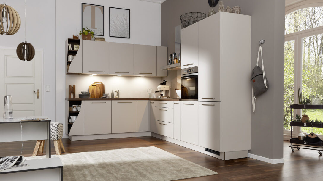 Large Size of Interliving Kche Serie 3005 Wohnzimmer Küchenkarussell Blockiert