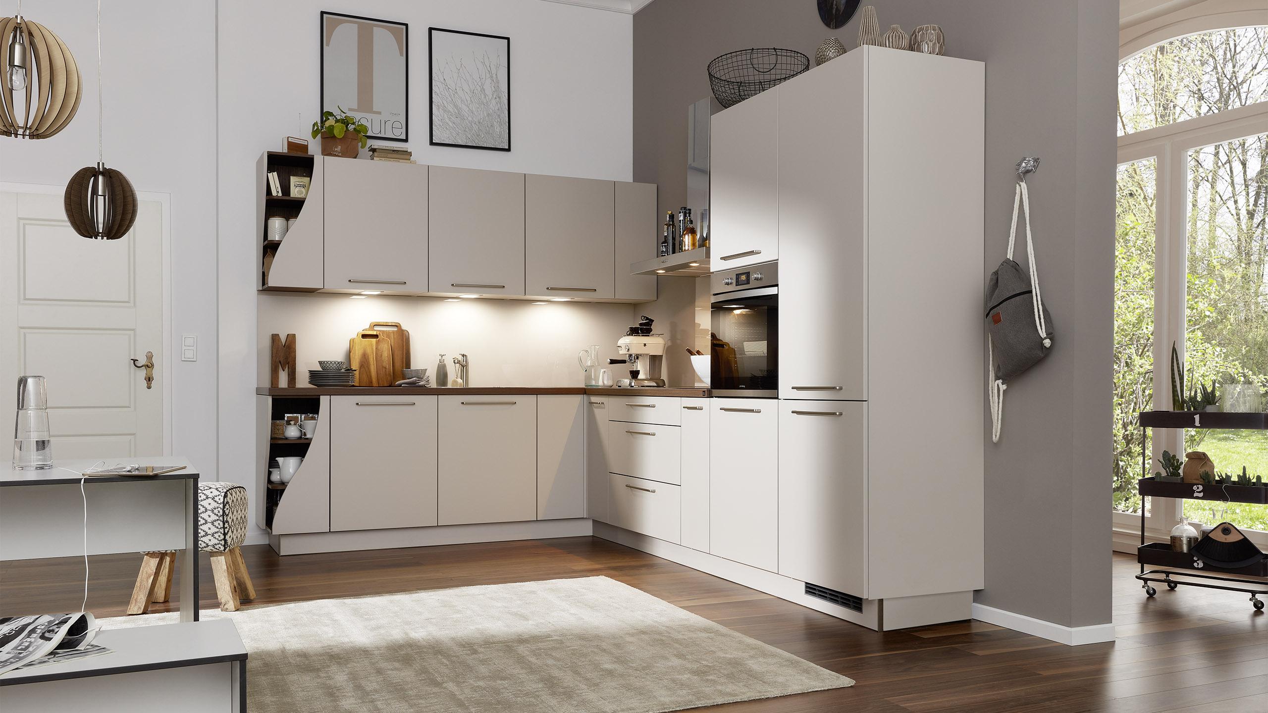 Full Size of Interliving Kche Serie 3005 Wohnzimmer Küchenkarussell Blockiert