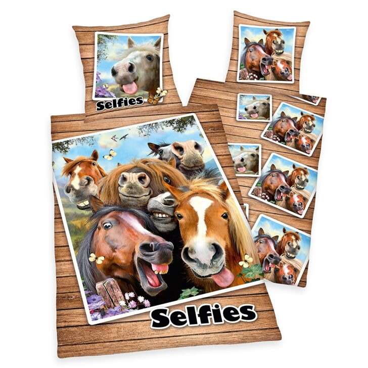 Medium Size of Bettwsche Lustige Pferde Selfies Pony Rappen Geschenk 140 200 Wandsprüche Bettwäsche Sprüche Wandtattoos Coole T Shirt Jutebeutel T Shirt Wohnzimmer Bettwäsche Lustige Sprüche