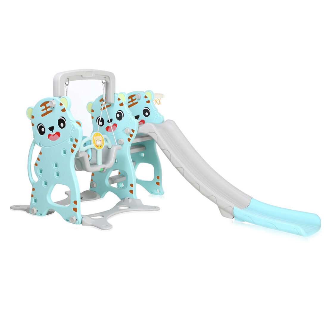 Large Size of Klettergerüst Indoor Diy Baby Vivo Kids Swing Playground With Slide For And Outdoor Garten Wohnzimmer Klettergerüst Indoor Diy