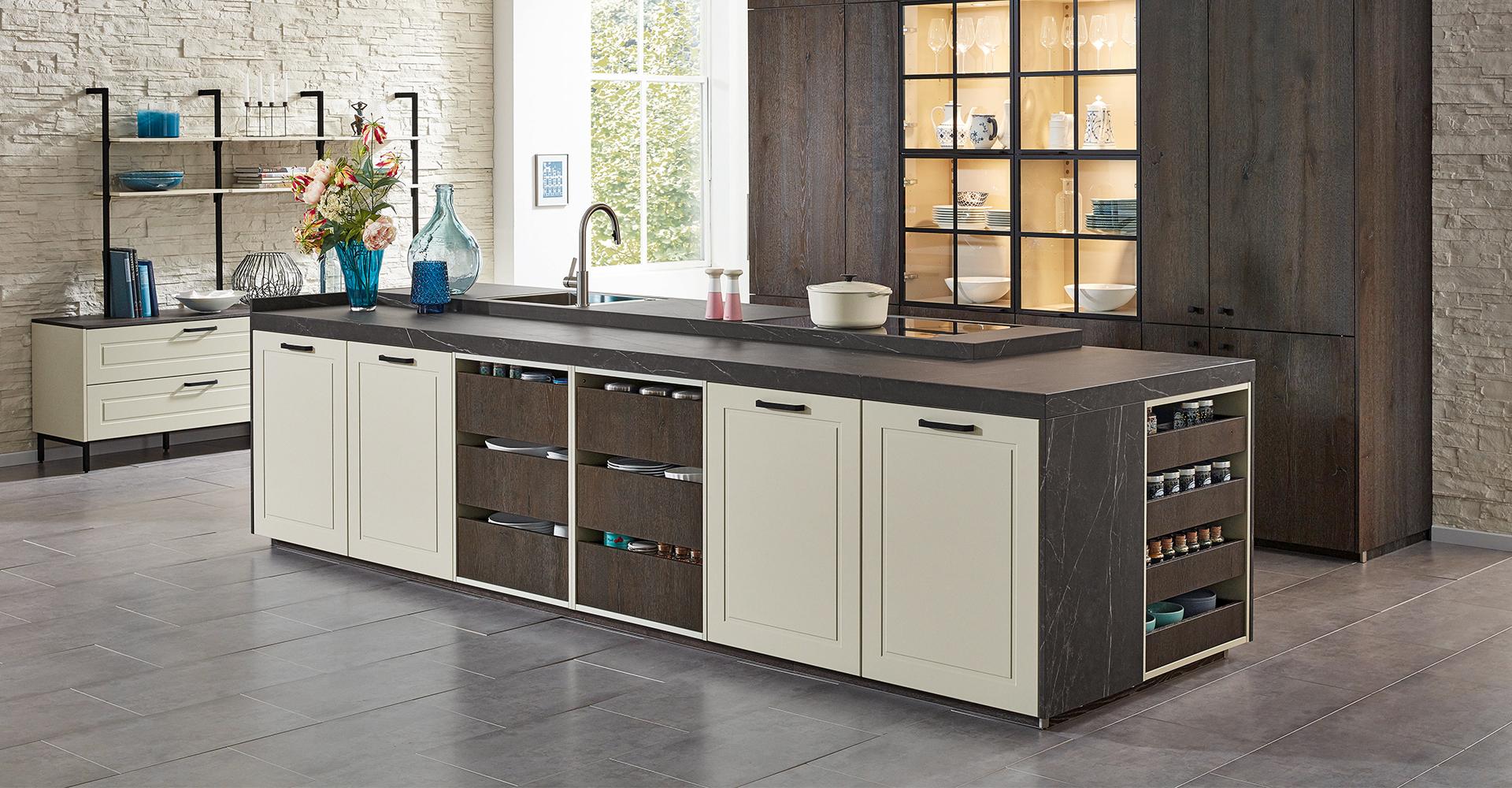 Full Size of Kchenarbeitsplatte Pietra Grey Von Sapienstone Fr Ballerina Küchen Regal Wohnzimmer Ballerina Küchen
