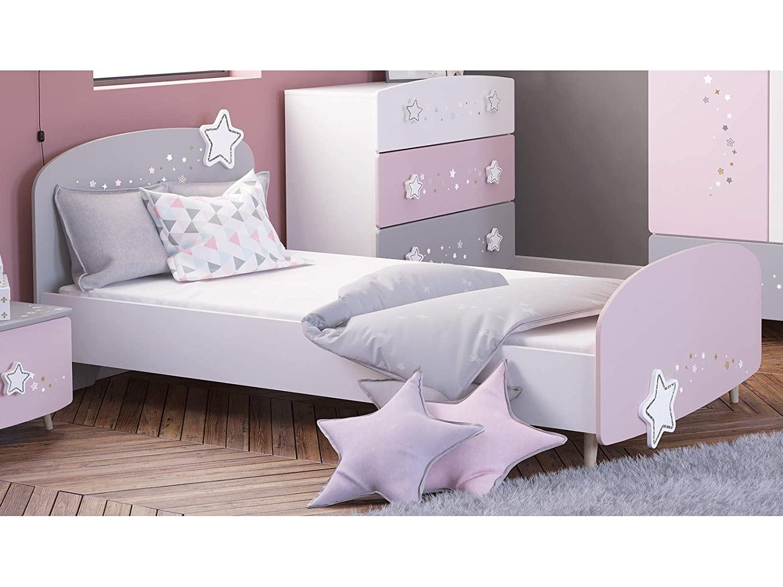 Full Size of Mädchenbetten Mbelando Bett Motivbett Einzelbett Mdchenbett Wohnzimmer Mädchenbetten