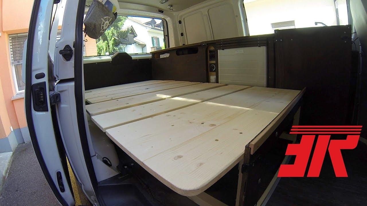 Full Size of Ausziehbett Camper Bettsofa Fr Vw T5 Part 10 Youtube Bett Mit Wohnzimmer Ausziehbett Camper