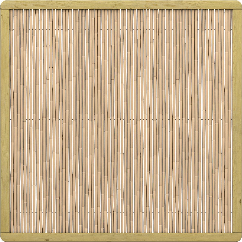 Full Size of Obi Wpc Sichtschutz Sichtschutzzaun Element Bambu Rechteck 179 Cm Kaufen Bei Immobilienmakler Baden Fenster Für Garten Sichtschutzfolie Sichtschutzfolien Wohnzimmer Obi Wpc Sichtschutz