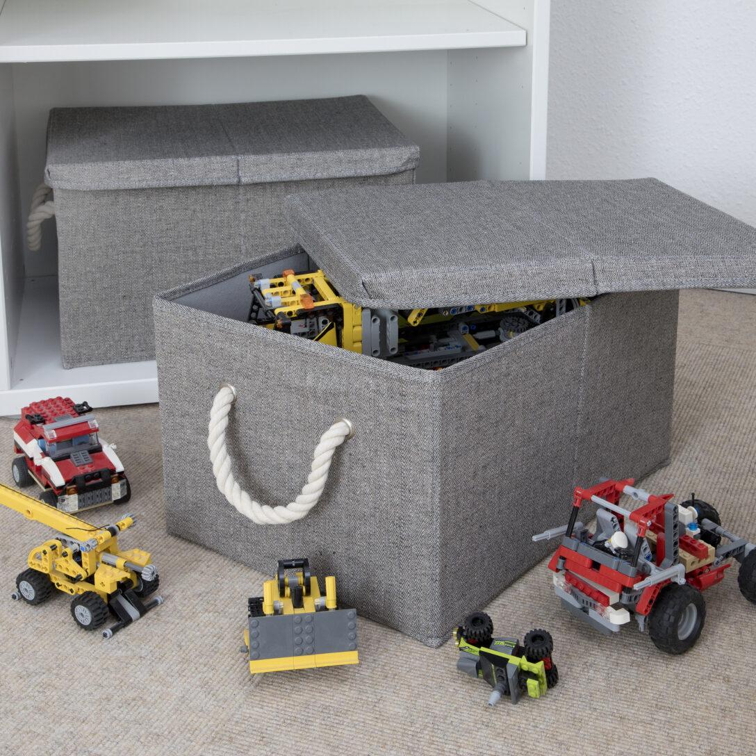 Large Size of Aufbewahrungsbox Kinderzimmer Aufbewahrungsbo40x30x25 Cm Terrasell Regal Garten Weiß Regale Sofa Wohnzimmer Aufbewahrungsbox Kinderzimmer