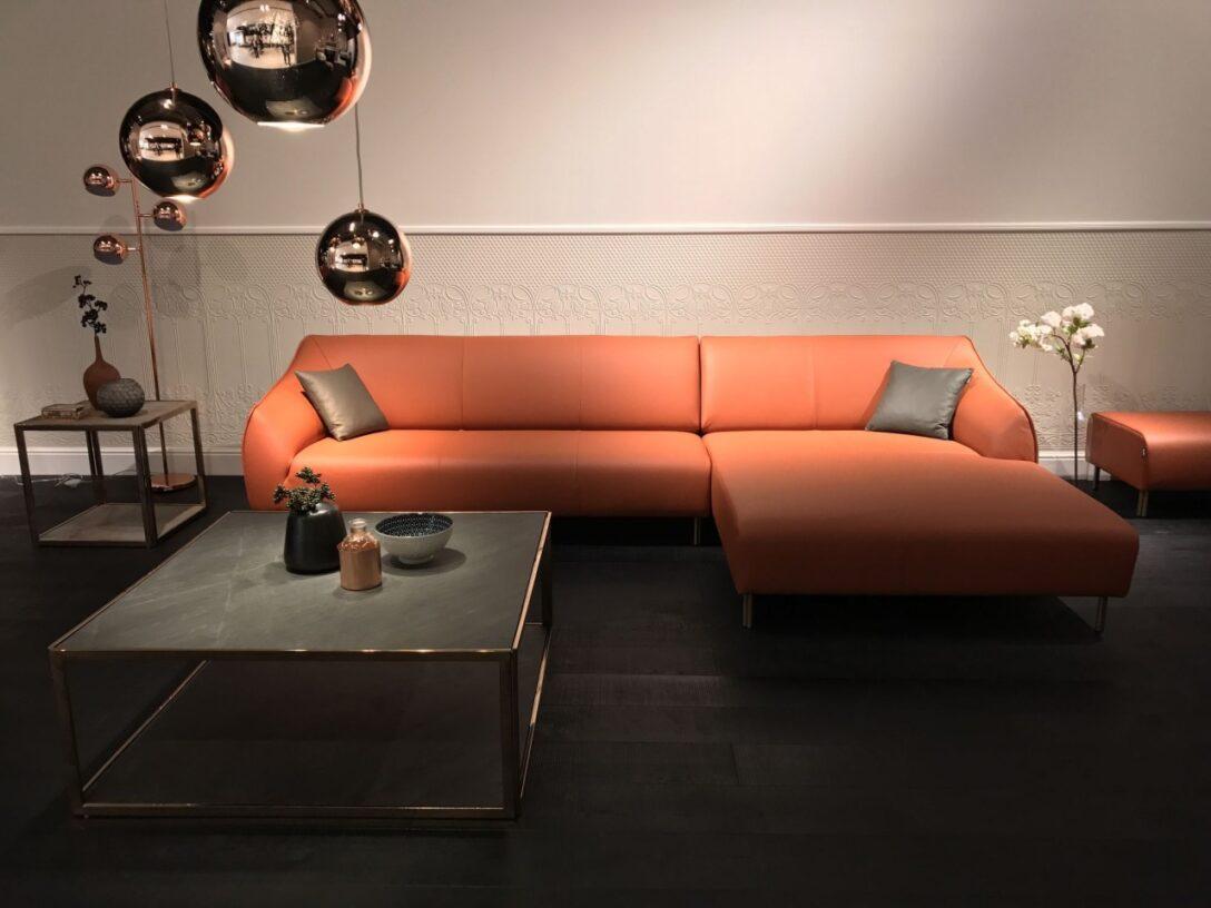 Large Size of Freistil Ausstellungsstück 132 Rolf Benz Sofa Mit Recamiere Im Edlen Nappa Leder Bett Küche Wohnzimmer Freistil Ausstellungsstück