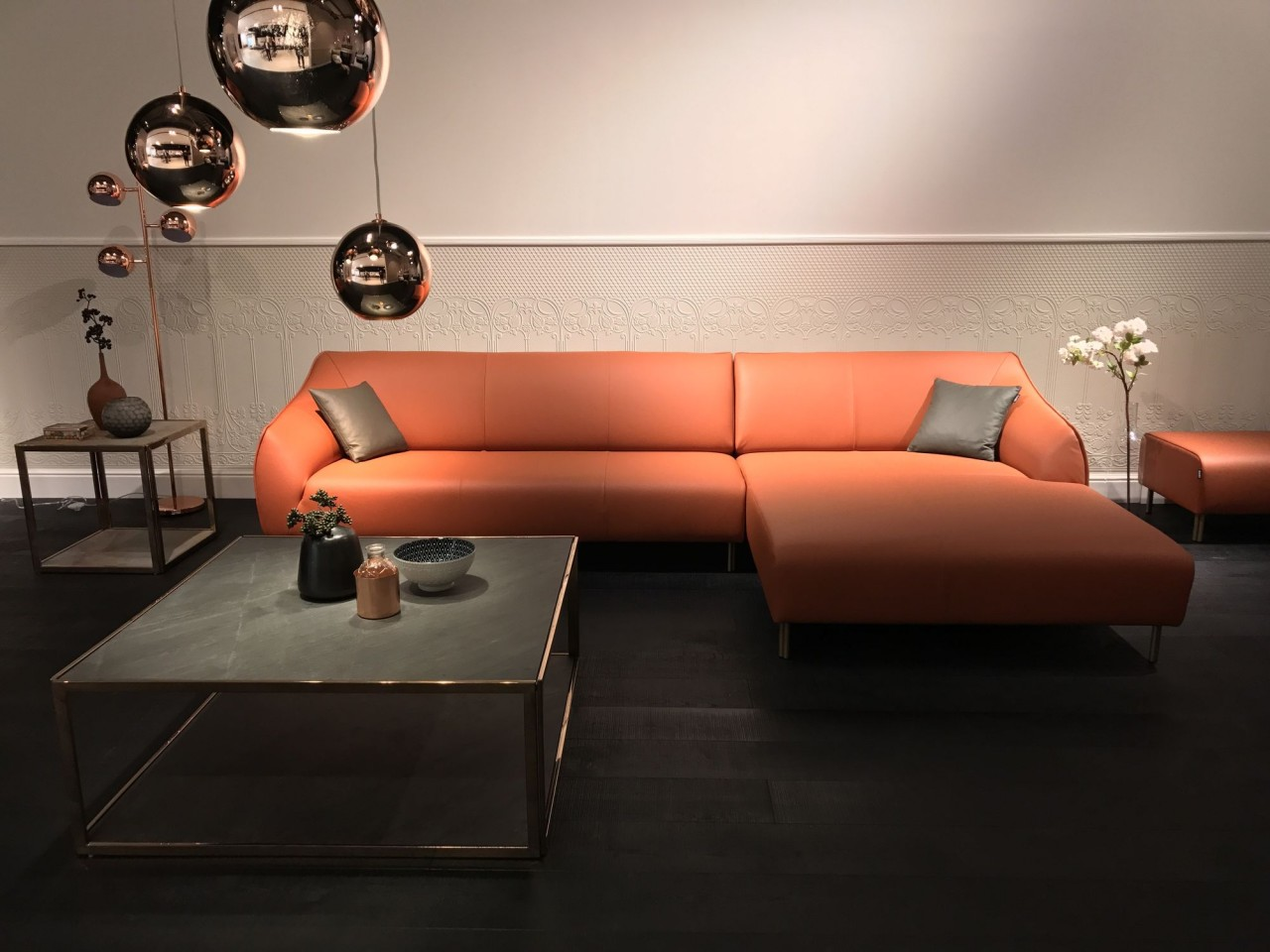 Full Size of Freistil Ausstellungsstück 132 Rolf Benz Sofa Mit Recamiere Im Edlen Nappa Leder Bett Küche Wohnzimmer Freistil Ausstellungsstück