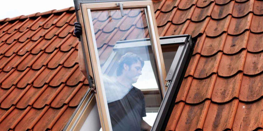 Large Size of Dachfenster Einbauen Austauschen Oder Nachtrglich Bodengleiche Dusche Fenster Kosten Neue Rolladen Nachträglich Velux Wohnzimmer Dachfenster Einbauen