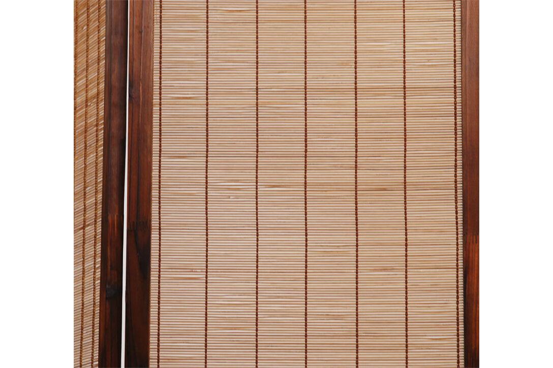 Large Size of Paravent Bambus Aus Und Tannenholz Niha Miliboo Bett Garten Wohnzimmer Paravent Bambus
