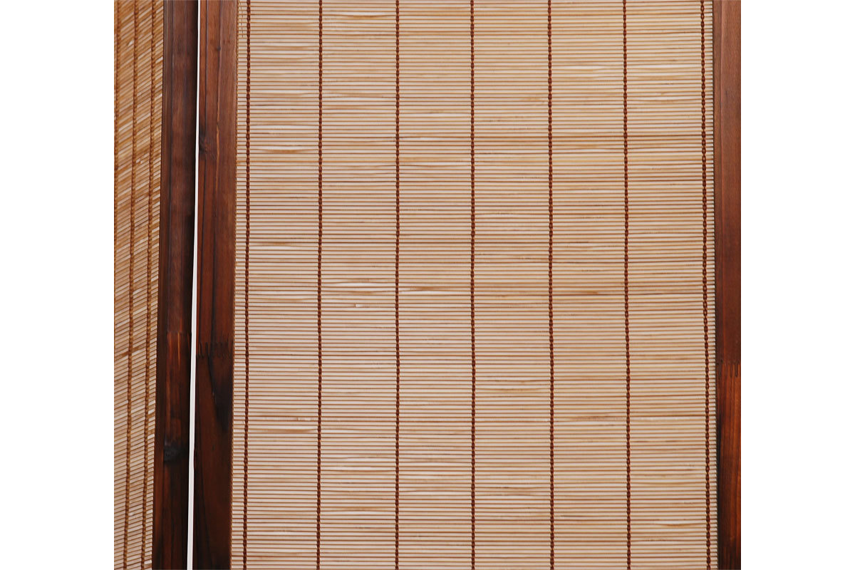Full Size of Paravent Bambus Aus Und Tannenholz Niha Miliboo Bett Garten Wohnzimmer Paravent Bambus