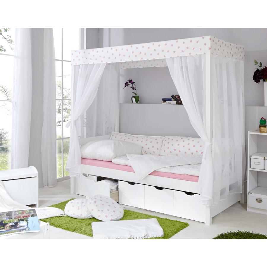 Full Size of Himmel Bett Himmelbett Holz 180x200 Metall Mit Lattenrost Baby Schwarze Küche Schwarzes Schwarz Weiß Wohnzimmer Babybett Schwarz