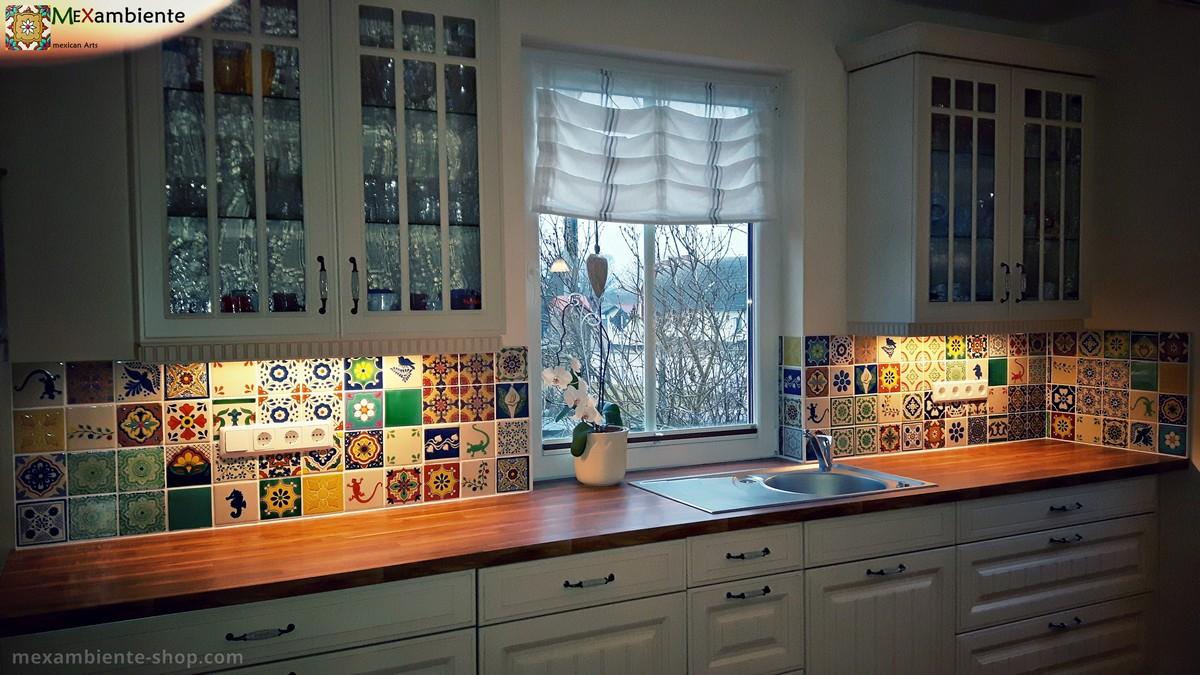 Full Size of Galerie Fotos Mexikanische Waschbecken Fliesen Mexambiente Fliesenspiegel Küche Glas Landhausküche Gebraucht Weisse Grau Weiß Selber Machen Moderne Wohnzimmer Fliesenspiegel Landhausküche