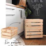 Kisten Küche Toller Ikea Hack Einen Rollcontainer Selber Bauen Wohnklamotte Klapptisch Abfallbehälter Billige Anthrazit Kosten Schwarze Rolladenschrank Wohnzimmer Kisten Küche