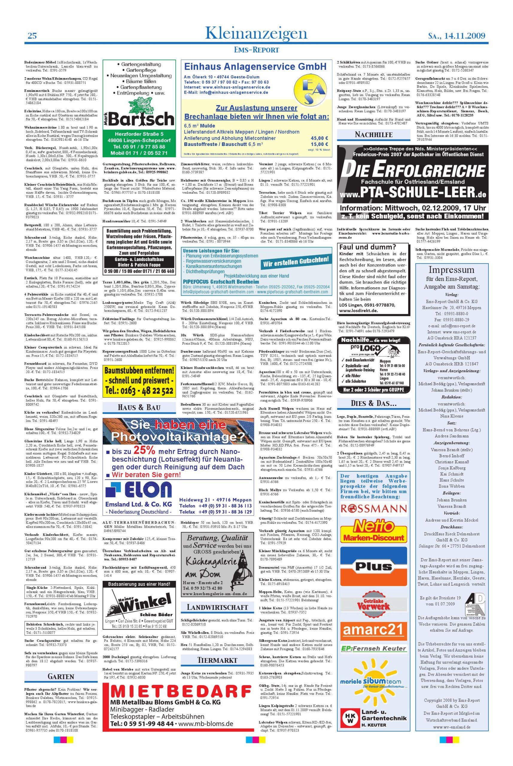 Full Size of Ems Report Ausgabe Online Kw 46 09 14112009 By Gmbh Betten Bei Ikea Modulküche Singleküche Mit Kühlschrank Küche Kaufen Kosten Sofa Schlaffunktion 160x200 Wohnzimmer Ikea Singleküche Värde