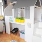 Kinderbett Diy Hausbett Anleitung Zum Bau Eines Ikea Kura Hacks Mit Treppe Wohnzimmer Kinderbett Diy