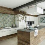 Küchen Fliesenspiegel Wohnzimmer Via Fliesen In Den Schnsten Kchen Des Jahres 2015 Küche Fliesenspiegel Küchen Regal Glas Selber Machen