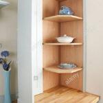 Eckschränke Küche Wohnzimmer Eckschrank In Einer Modernen Kche Stockfoto Küche Rosa Aufbewahrungsbehälter Anthrazit Müllschrank Segmüller Kaufen Ikea Deckenleuchte Mintgrün