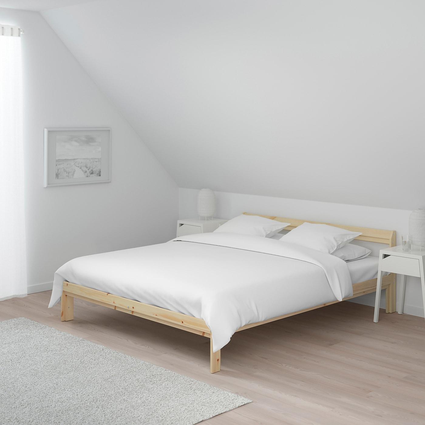 Full Size of Neiden Bettgestell Birke Kiefer Steens Bett Modern Design 120 Cm Breit Platzsparend 2x2m Leander Mit Matratze Und Lattenrost 140x200 Hoch Jensen Betten Wohnzimmer Bett 120x200 Ikea