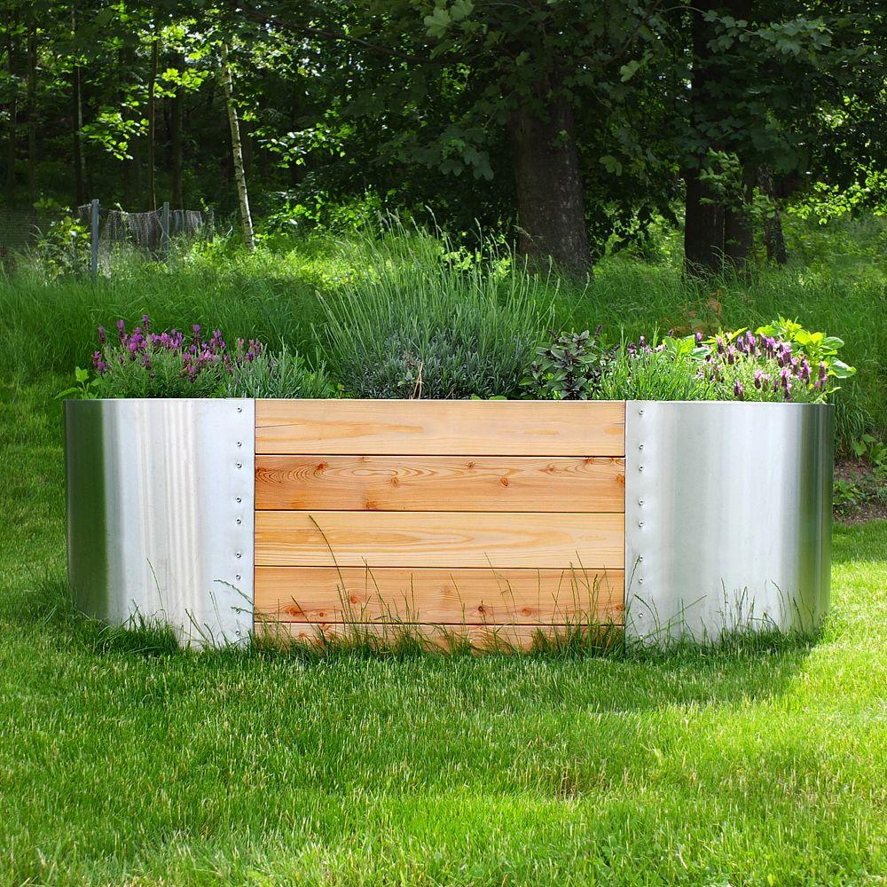 Full Size of Hochbeet Edelstahl Exklusives Aus Outdoor Küche Edelstahlküche Gebraucht Garten Wohnzimmer Hochbeet Edelstahl