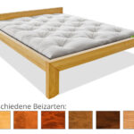 Bett 100x200 Weiß Betten Wohnzimmer Futonbett 100x200