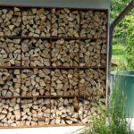 Holzlege Cortenstahl Wohnzimmer Holzlege Cortenstahl