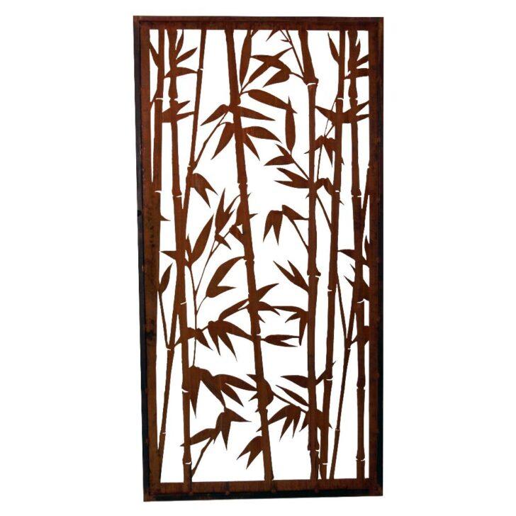 Medium Size of Rost Paravent Bambus Offen 1000 2000 Mm Sichtschutz Garten Bett Wohnzimmer Paravent Bambus