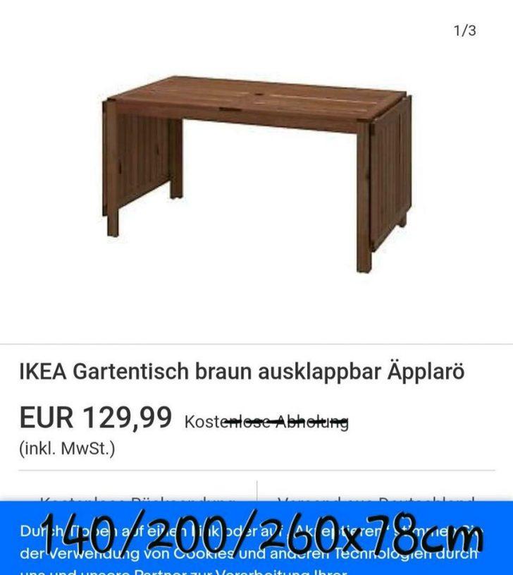 Medium Size of Gartentisch Ikea Gebrauchte Pplar Tisch Und 4 Sthle In Baden Küche Kosten Betten Bei 160x200 Sofa Schlaffunktion Kaufen Wohnzimmer Gartentisch Ikea