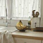 Küchenvorhang Wohnzimmer Küchenvorhang Kchenvorhang Ideen Von Stoffen Und Ursprnglichen Farben