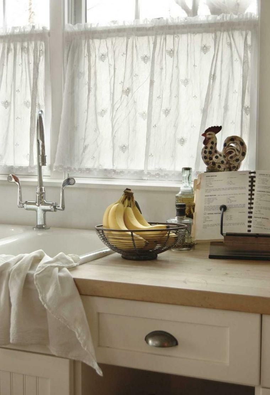 Full Size of Küchenvorhang Kchenvorhang Ideen Von Stoffen Und Ursprnglichen Farben Wohnzimmer Küchenvorhang