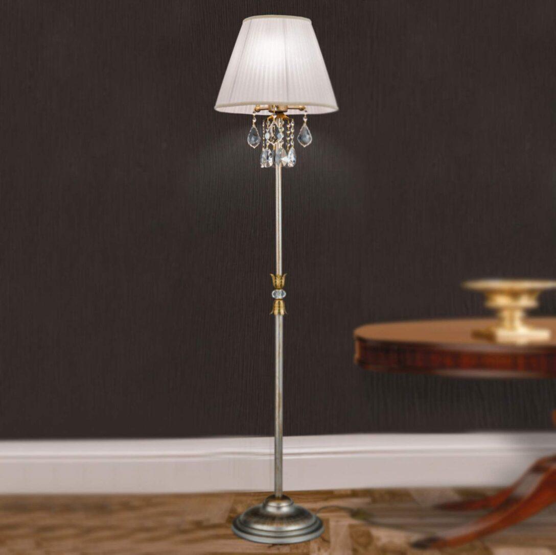Large Size of Kristall Stehlampe Miramare Von Orion Silber Kristalle Wohnzimmer Schlafzimmer Stehlampen Wohnzimmer Kristall Stehlampe
