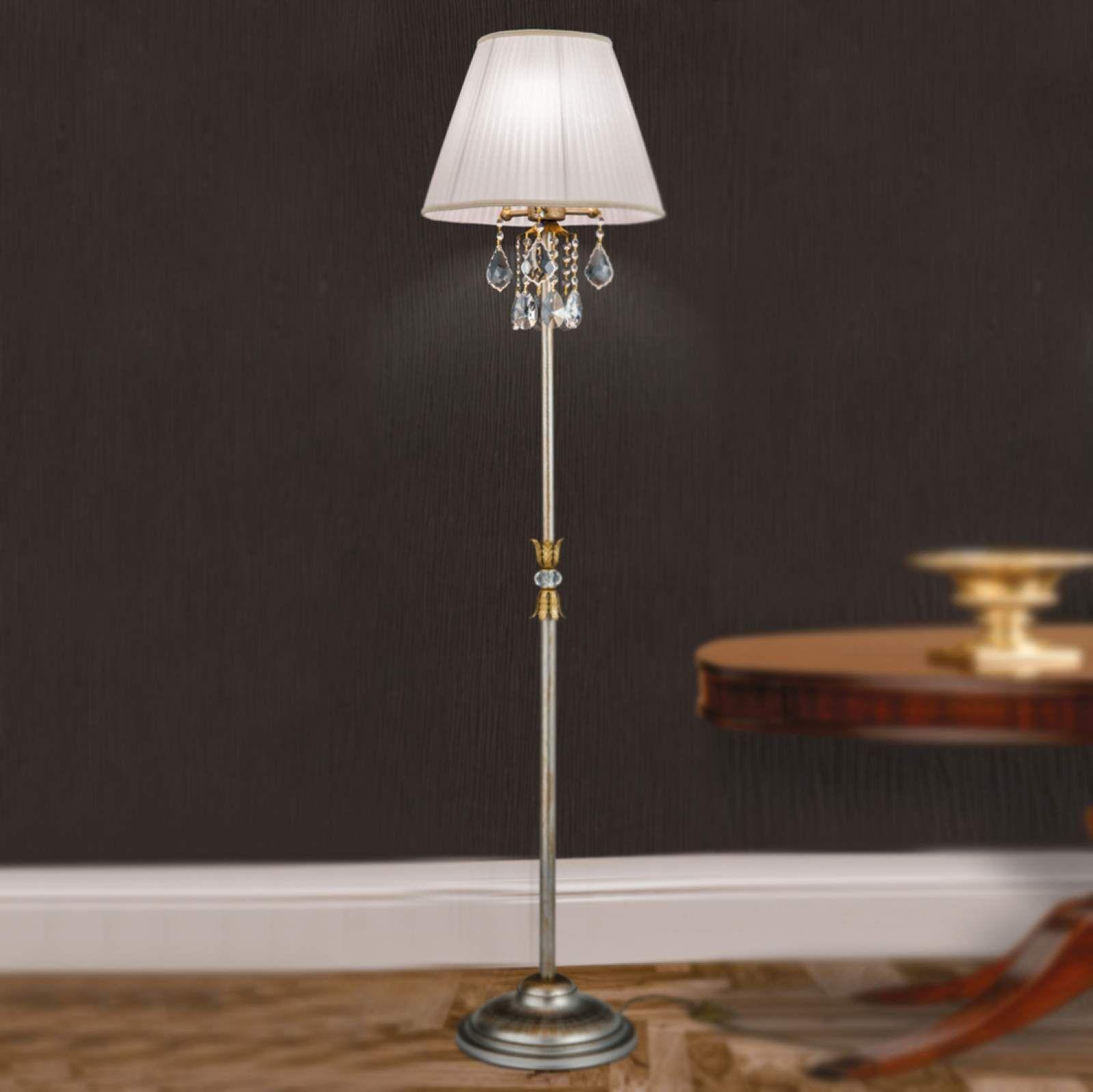 Full Size of Kristall Stehlampe Miramare Von Orion Silber Kristalle Wohnzimmer Schlafzimmer Stehlampen Wohnzimmer Kristall Stehlampe