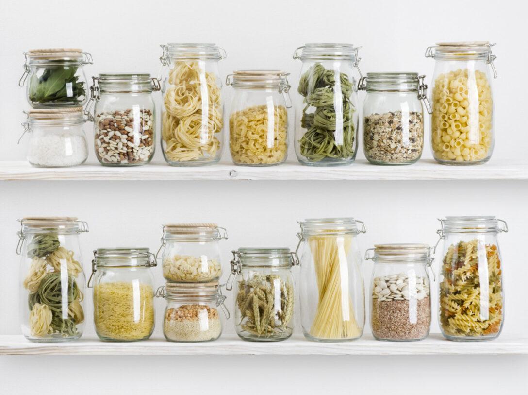 Large Size of Küchen Aufbewahrungsbehälter Kche Deko 5 Dekorationsideen Fr Deine Regal Küche Wohnzimmer Küchen Aufbewahrungsbehälter