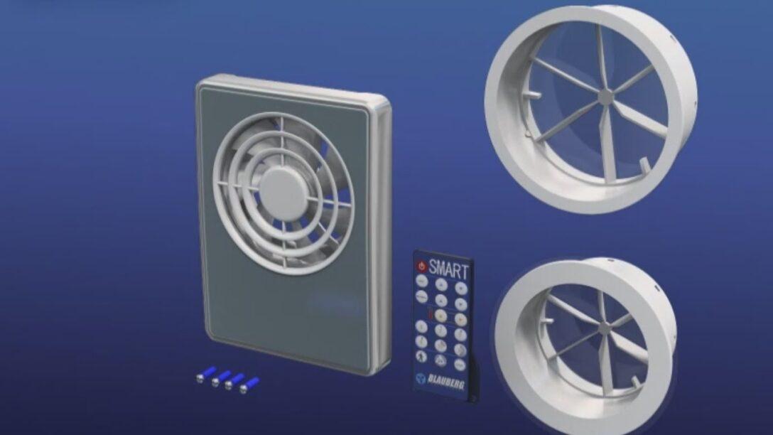 Large Size of Blauberg Smart Smarte Und Hocheffiziente Kleinraumventilatoren Einbauküche Mit Elektrogeräten Gardinen Für Küche Einbau Mülleimer Singleküche Wohnzimmer Abluftventilator Küche Mit Fernbedienung