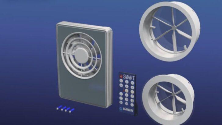 Medium Size of Blauberg Smart Smarte Und Hocheffiziente Kleinraumventilatoren Einbauküche Mit Elektrogeräten Gardinen Für Küche Einbau Mülleimer Singleküche Wohnzimmer Abluftventilator Küche Mit Fernbedienung