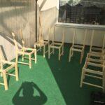 Ikea Hack Sitzbank Küche Diy Aus 8 Sthlen Wird Eine Groe Mobile Essplatz U Form Mit Theke Landhausküche Hochglanz Nolte Miniküche Kühlschrank Kaufen Wohnzimmer Ikea Hack Sitzbank Küche
