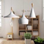 Wohnzimmer Lampe Holz Fhrte Anhnger Licht Nordic Stil Kreative Und Einfache Esstische Massivholz Sichtschutz Garten Lampen Esstisch Holzregal Holzofen Küche Wohnzimmer Wohnzimmer Lampe Holz