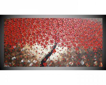 Wohnzimmer Wandbilder Wohnzimmer Wohnzimmer Wandbilder Acrylbild Auf Leinwand Bild Abstrakt Baum Mit Roten Schlafzimmer Tisch Landhausstil Deckenlampen Modern Bilder Indirekte Beleuchtung