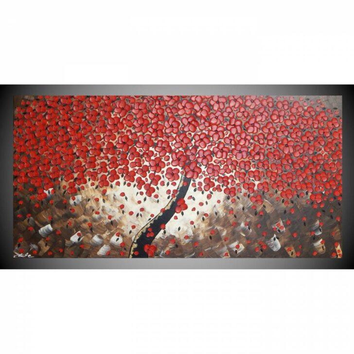 Medium Size of Wohnzimmer Wandbilder Acrylbild Auf Leinwand Bild Abstrakt Baum Mit Roten Schlafzimmer Tisch Landhausstil Deckenlampen Modern Bilder Indirekte Beleuchtung Wohnzimmer Wohnzimmer Wandbilder