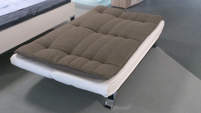 Full Size of Schlafsofa Clirk Ausklappbar In Stoff Dunkelgrau Lederlook Wei Bett Ausklappbares Wohnzimmer Couch Ausklappbar